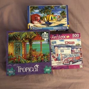 Other - Three unopened puzzles